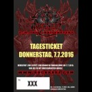 ROCKHARZ 2016 - Tagesticket Donnerstag